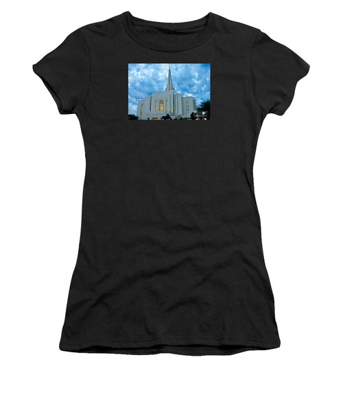 Gilbert Arizona Lds Temple Women's T-Shirt (Athletic Fit)