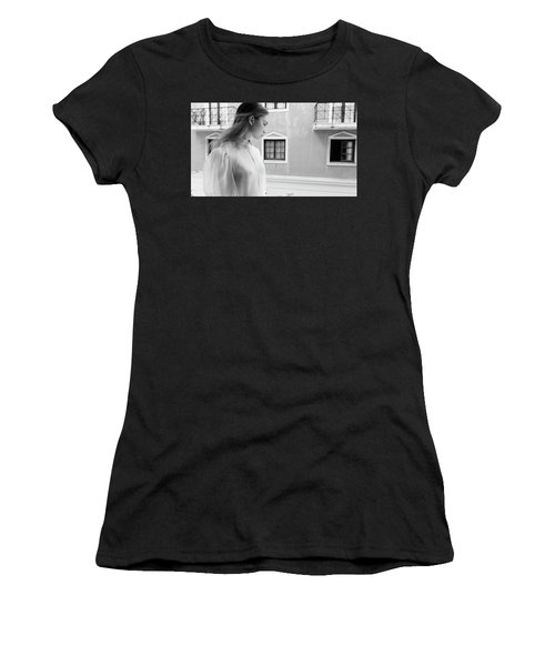 Girl In Profile Women's T-Shirt