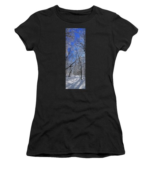 Glowing Forest, Knoch Knolls Park, Naperville Il Women's T-Shirt