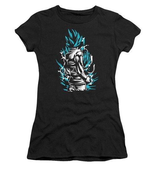 Goku Silluette - Dragon Ball Women's T-Shirt