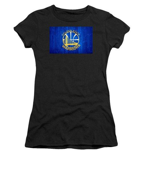 Golden State Warriors Door Women's T-Shirt (Athletic Fit)