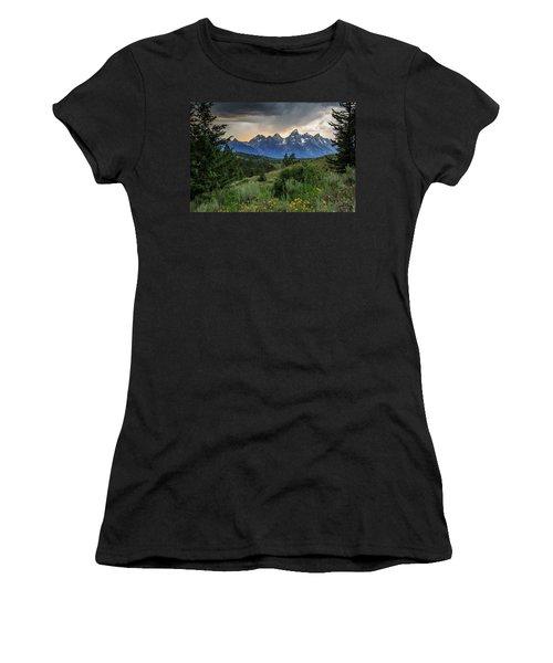 Grand Stormy Sunset Women's T-Shirt