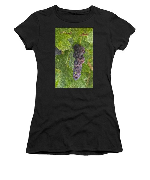 Grape Fruit Women's T-Shirt (Athletic Fit)