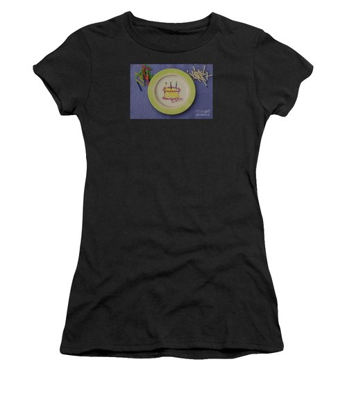 Happy Birthday Women's T-Shirt (Athletic Fit)