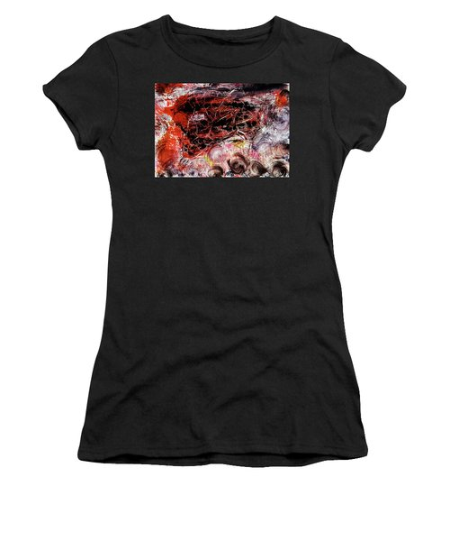 Women's T-Shirt featuring the painting Harmony by Michael Lucarelli