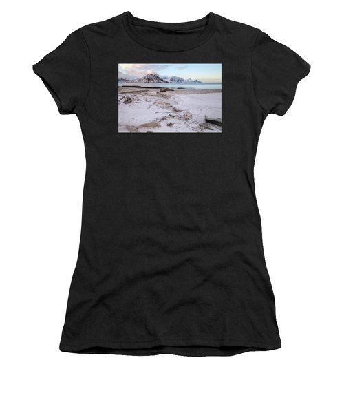Haukland, Lofoten - Norway Women's T-Shirt