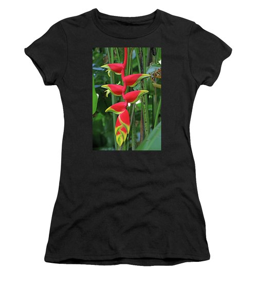 Hawaii Flora Women's T-Shirt (Athletic Fit)