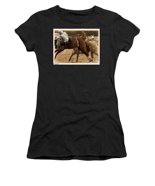 Helluva Rodeo-the Ride 6 Women's T-Shirt (Athletic Fit)