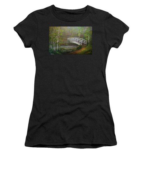 Hideaway Women's T-Shirt (Athletic Fit)