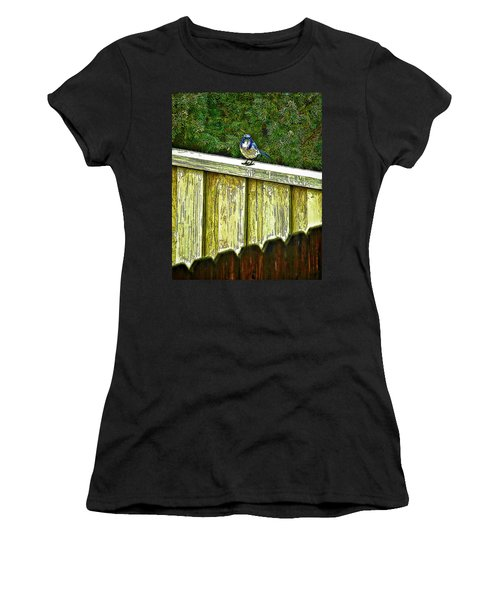 Hiding In Safety Women's T-Shirt