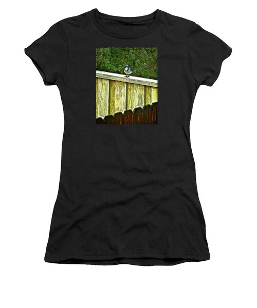 Hiding In Safety Women's T-Shirt (Athletic Fit)