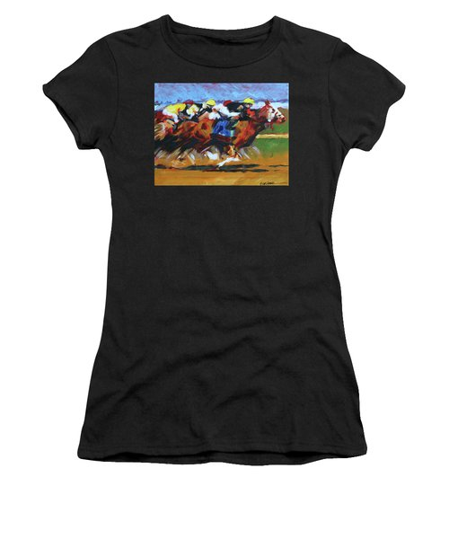 Home Stretch Women's T-Shirt (Athletic Fit)