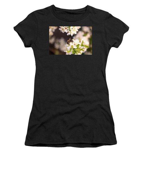 Honeybee At Work Women's T-Shirt