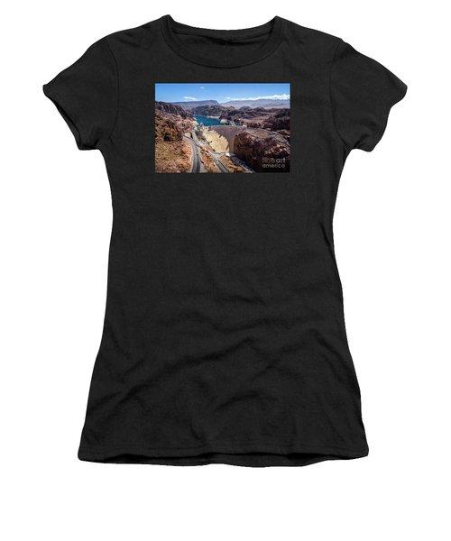 Hoover Dam Women's T-Shirt (Junior Cut) by RicardMN Photography