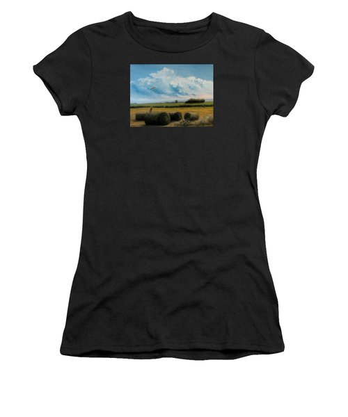 Hunting Women's T-Shirt (Athletic Fit)