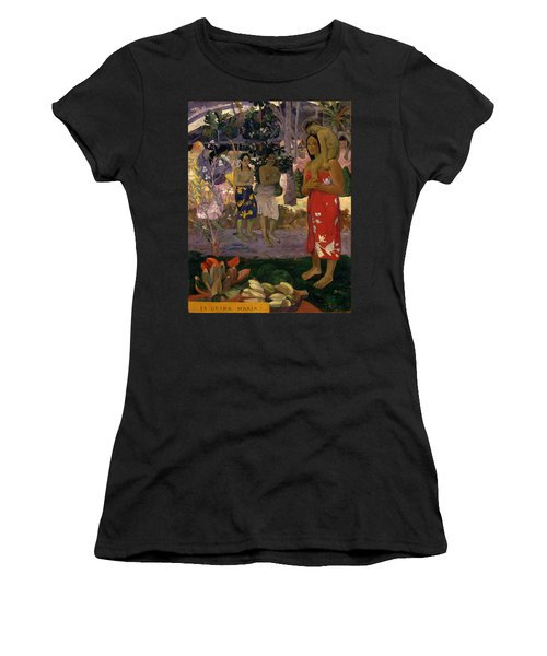 Ia Orana Maria Hail Mary Women's T-Shirt