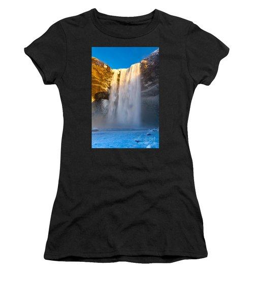 Women's T-Shirt (Junior Cut) featuring the photograph Iceland  by Mariusz Czajkowski