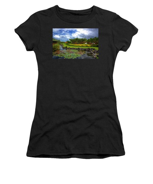 In Bali Women's T-Shirt (Athletic Fit)