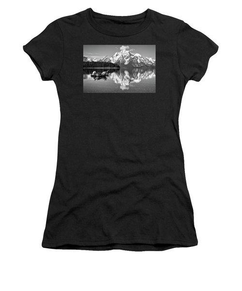 Jackson Lake, Gtnp  Women's T-Shirt