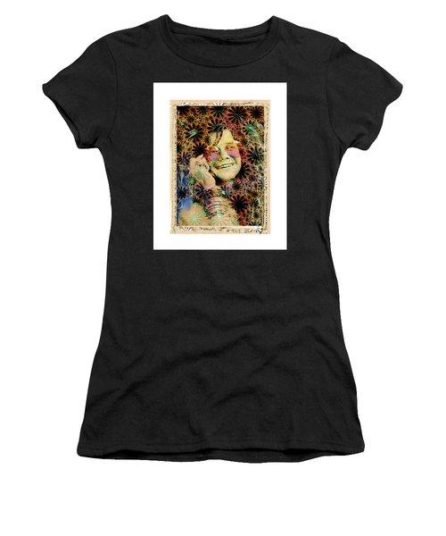 Janis Joplin Women's T-Shirt (Athletic Fit)
