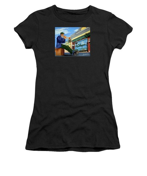Jazz At The Orleans Women's T-Shirt (Athletic Fit)