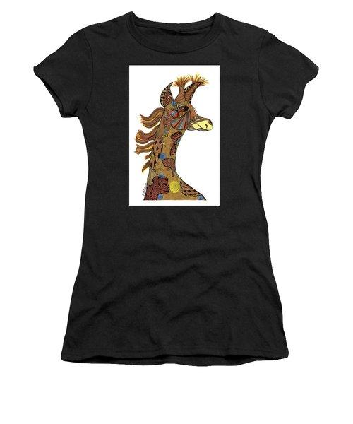 Josi Giraffe Women's T-Shirt (Athletic Fit)