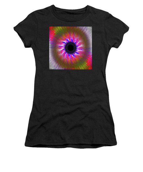 Keeping My Eye On You Women's T-Shirt (Athletic Fit)