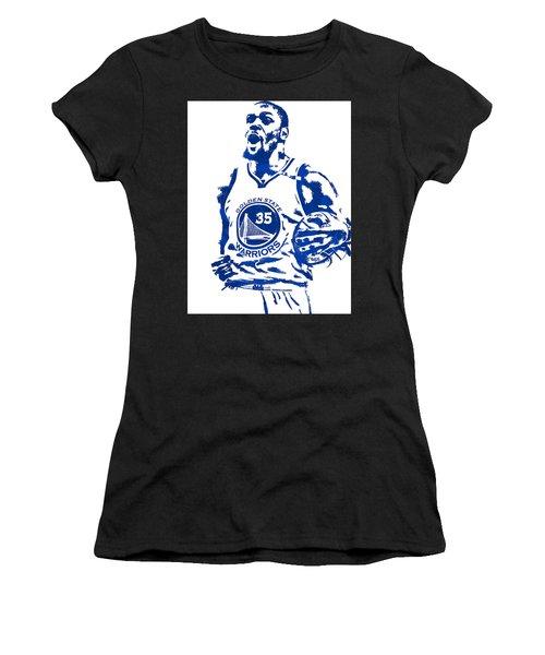 Kevin Durant Golden State Warriors Pixel Art 4 Women's T-Shirt
