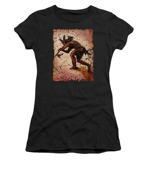 Kokopelli The Flute Player  Women's T-Shirt