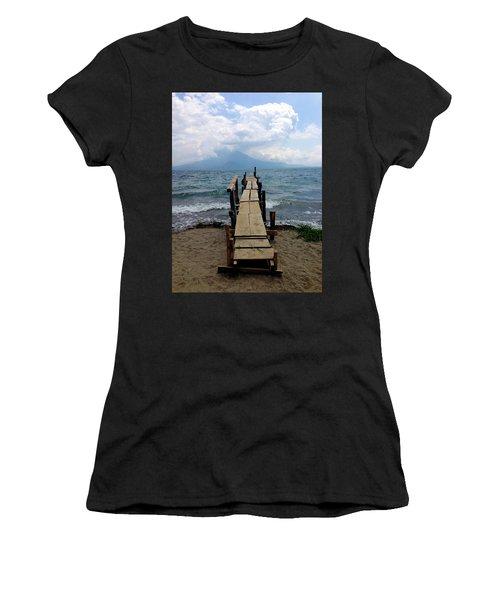 Lake Atitlan Dock Women's T-Shirt