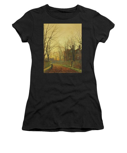 Late October Women's T-Shirt (Athletic Fit)