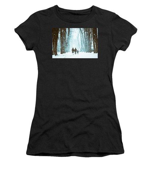 Let It Snow Women's T-Shirt
