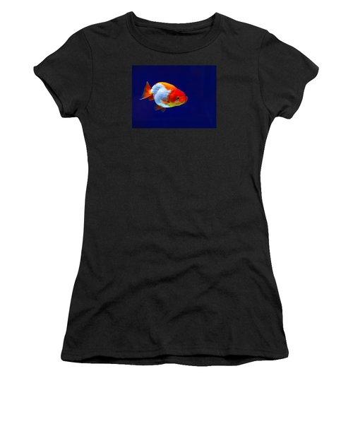 Lion Head Goldfish 4 Women's T-Shirt (Athletic Fit)