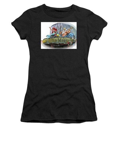 Little Mermaid Signage Mp Women's T-Shirt