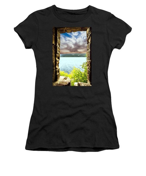 Loch Ness Women's T-Shirt (Athletic Fit)