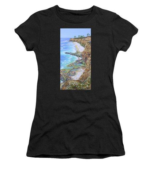 Low Tide Sunset Cliffs Women's T-Shirt