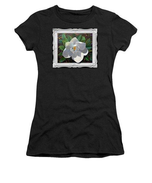 Magic Magnolia Women's T-Shirt (Athletic Fit)