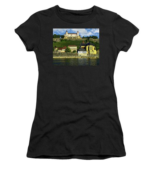 Marienberg Fortress Women's T-Shirt (Athletic Fit)