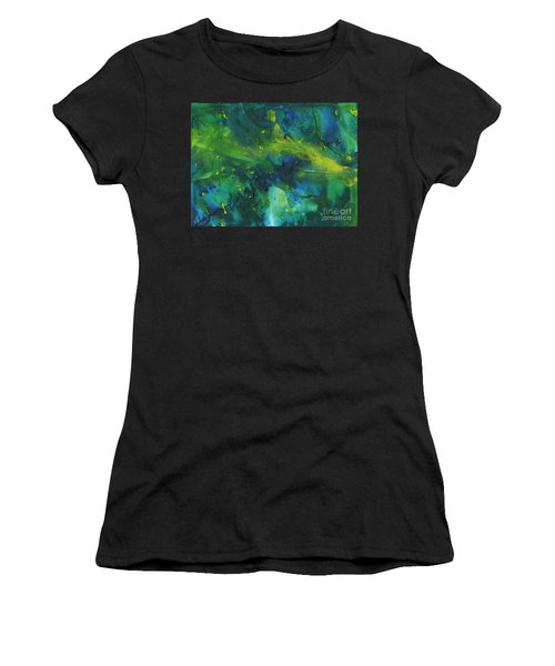 Marine Forest Women's T-Shirt (Athletic Fit)