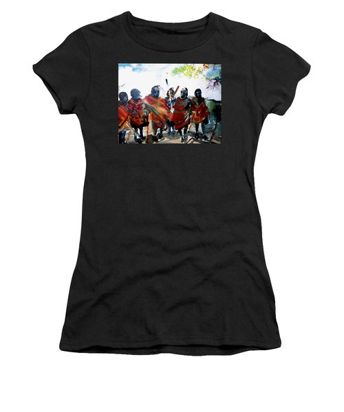 Masaai Boys Women's T-Shirt (Athletic Fit)