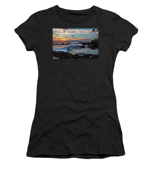 Maui Sunset At Secret Beach Women's T-Shirt