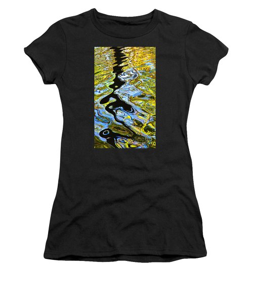 Mill Pond Reflection Women's T-Shirt (Athletic Fit)