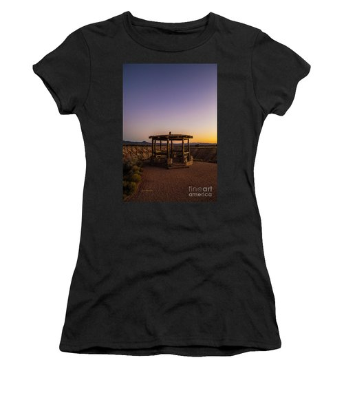Cathedral Gorge Gazebo Women's T-Shirt (Athletic Fit)