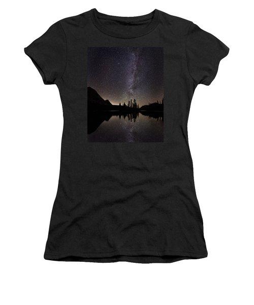 Mirror Lake Milky Way Women's T-Shirt