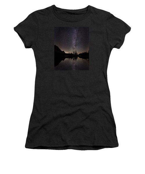 Mirror Lake Milky Way Women's T-Shirt