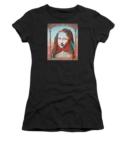Mona Lisa. Air Women's T-Shirt