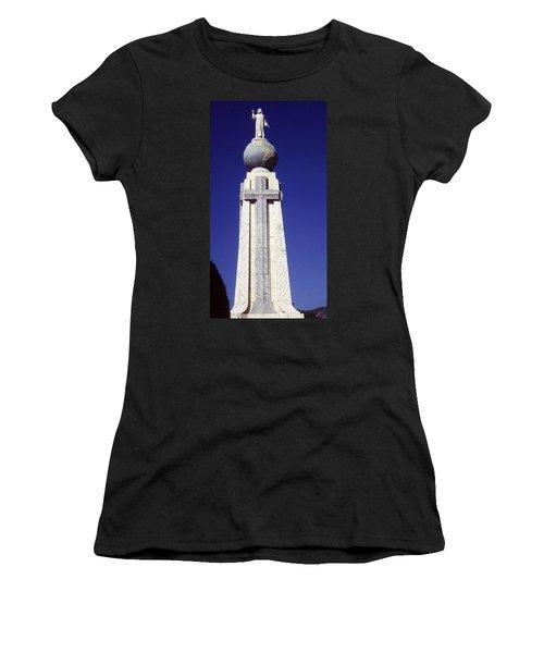 Monumento Al Divino Salvador Del Mundo Women's T-Shirt (Athletic Fit)