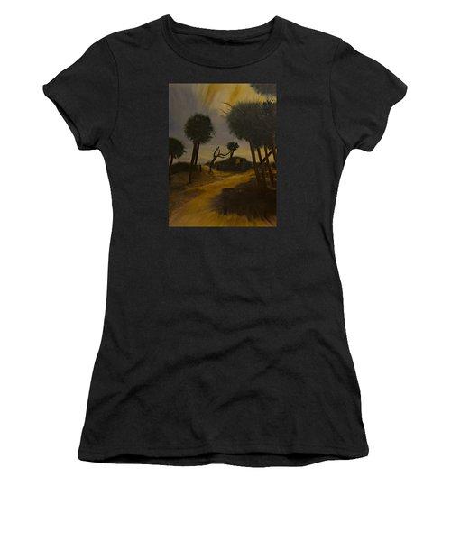 Moonlit Path Women's T-Shirt