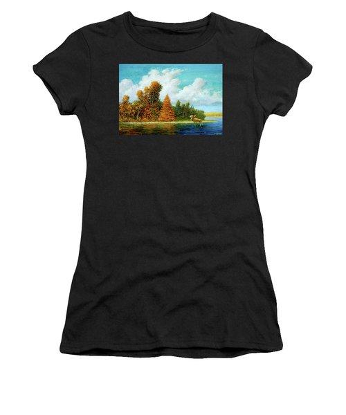 Moose Country Women's T-Shirt