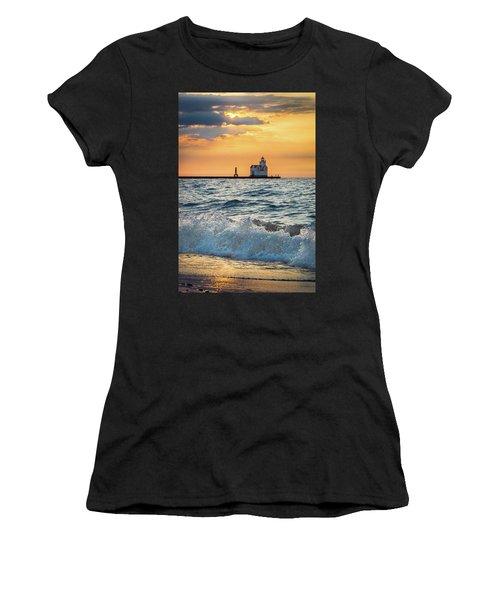 Morning Dance On The Beach Women's T-Shirt